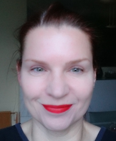 Clinique Long Last Soft Matte Lipstick in Matte Crimson 2