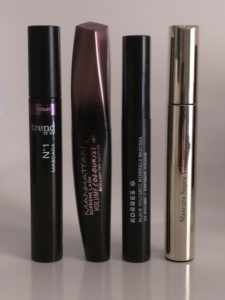Mascara: Clarins, Manhattan, Trend it up