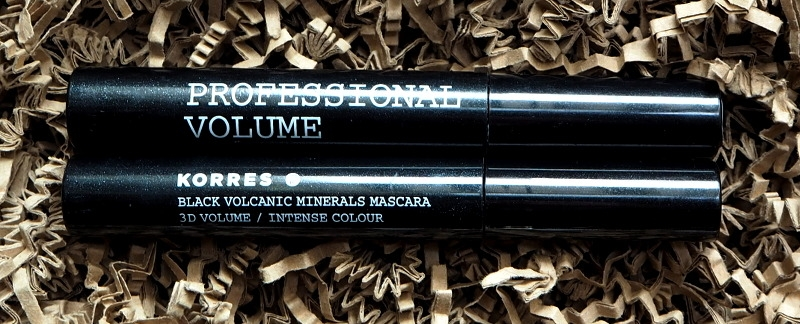 Korres Professional Volume Mascara Black 01 Brown 02