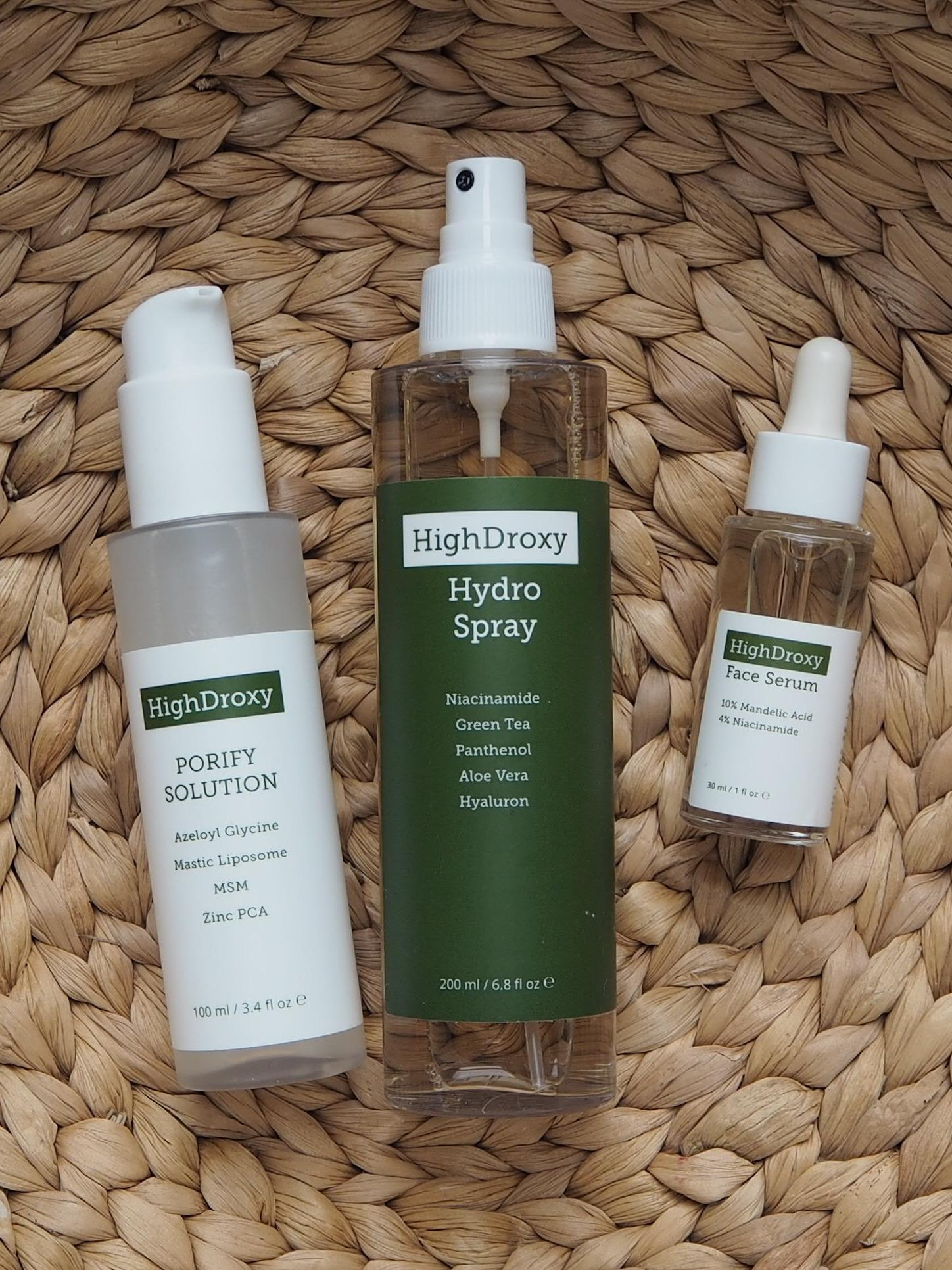HighDroxy Porify Solution Hydro Spray Face Serum
