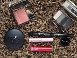 Makeup: Grün und goldenes Pink von Clarins