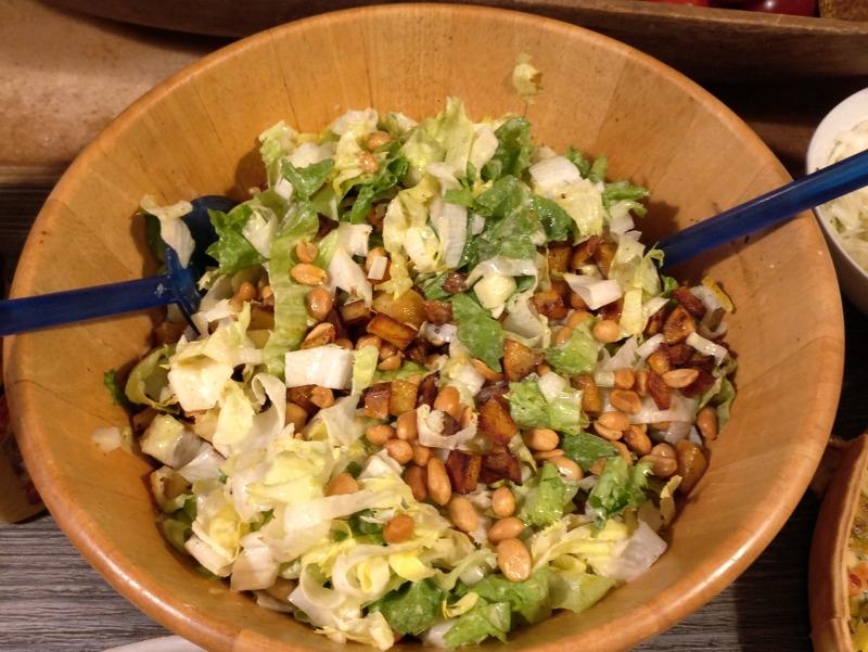 Kartoffelsalat mit Endivie und Apfel