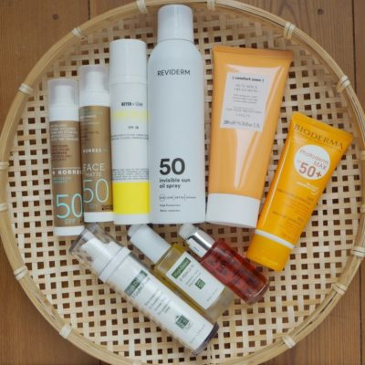 Sonnenschutz Update HighDroxy D-Fence 50 D Light Fluid Beyer & Soehne Dayshade Sonnencreme Reviderm Sun Oil Spray Comfort Zone Sun Soul Cream Bioderma Photoderm Lait