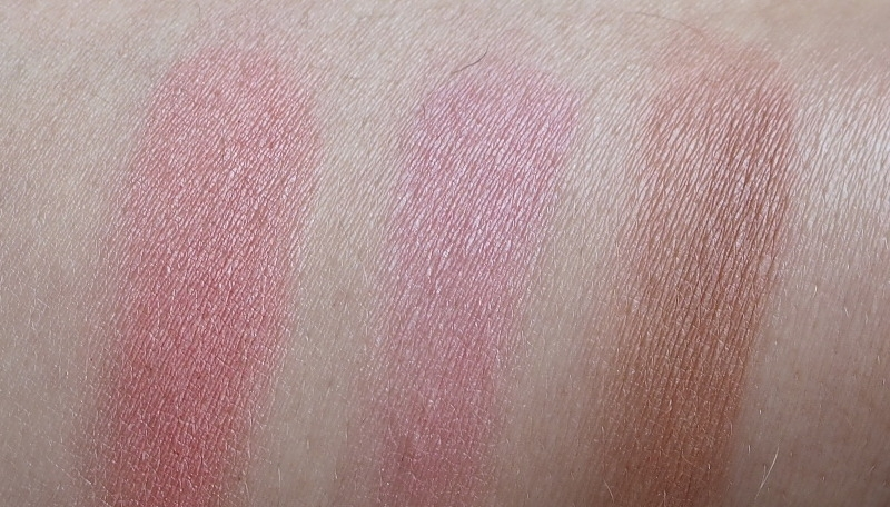 L.O.V. Blushment Blurring Blush Swatch 010 020 030