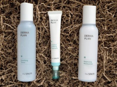 The SAEM Derma Plan Soothing Toner Sensitive Soothing Treatment Balancing Moisturizer