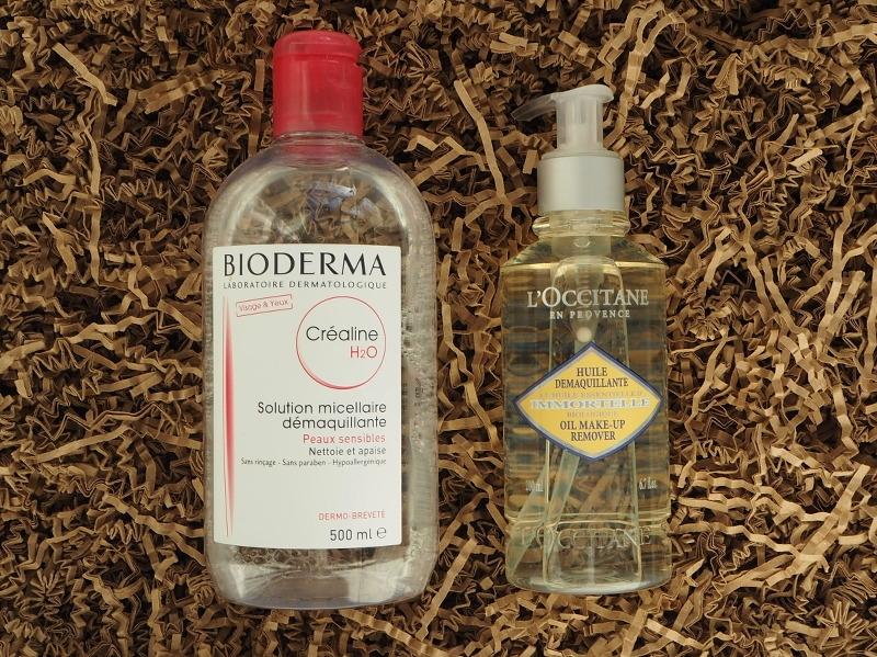 Bioderma Sensibio H2O Loccitane Immortelle Oil Makeup Remover
