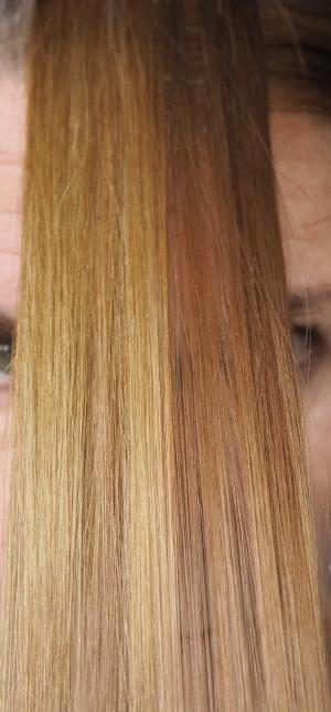 Ergebnis Haarfarben Entferner