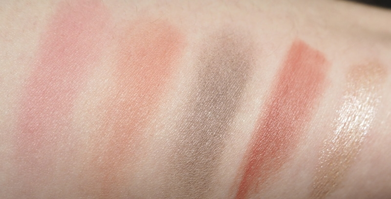 Bourjois Blush Lidschatten Charlotte Tilbury Pillow Talk Swatch