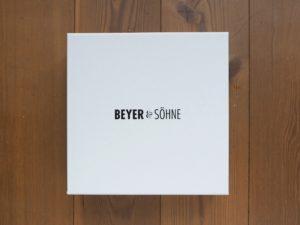 Die Beyer&Söhne Geschenkbox, eine dann doch nicht umgesetzte Idee und…. die kleine Nikolausverlosung