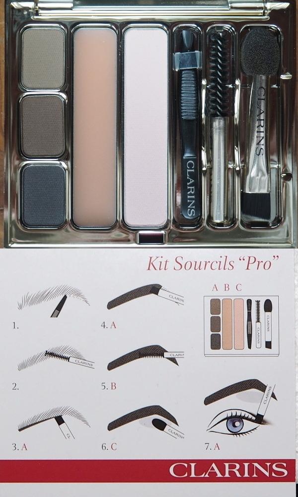 Clarins Kit Sourcils Pro mit Anleitung