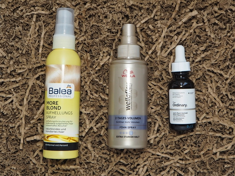 Balea Aufehllungsspray Wellaflex Volumenspray The Ordinary Hemi Squalane
