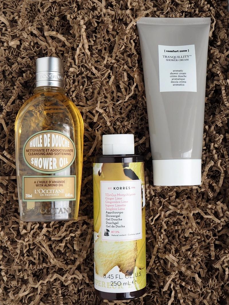 Loccitane Mandelduschoel Korres Duschgel Ginger Lime Comfort Zone Tranquillity Showercream