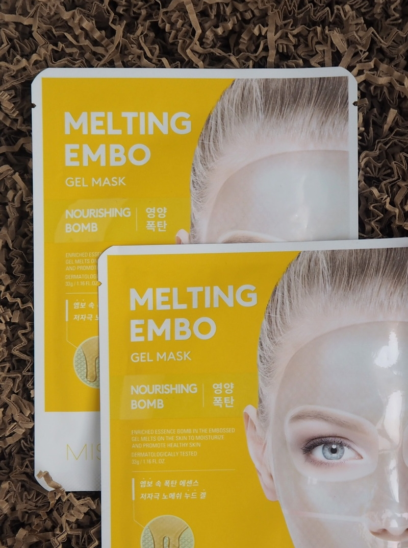 Missha Melting Embo Gel Mask Nourishing Bomb