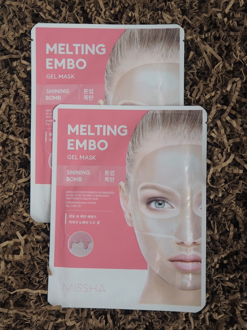 Missha Melting Embo Gel Mask Shining Bomb