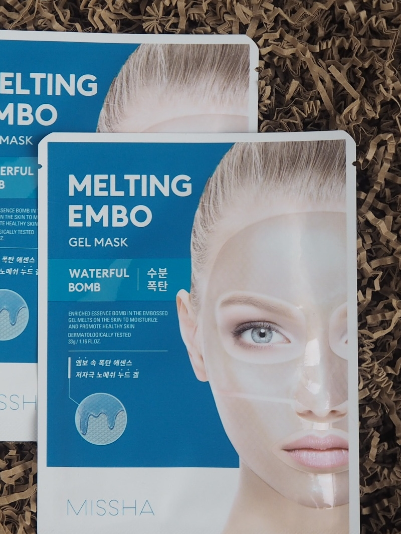 Missha Melting Embo Gel Mask Waterful Bomb