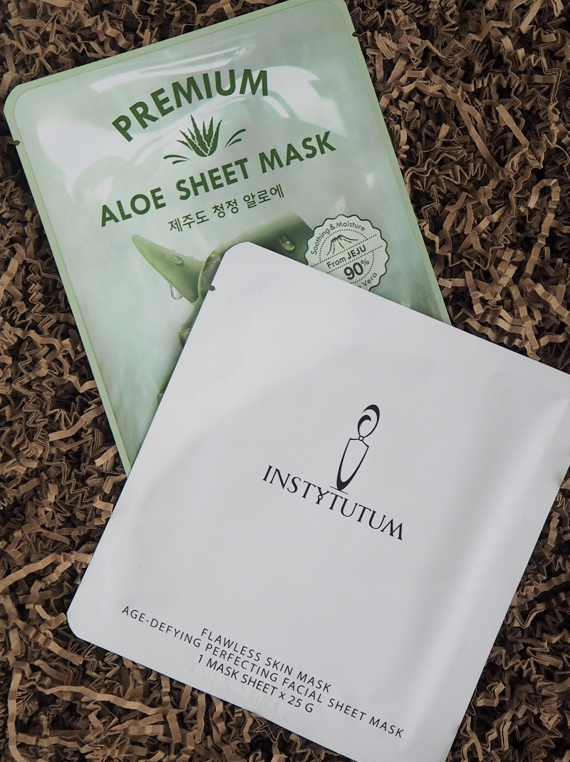 Sheetsmasks Missha Premium Aloe Sheet Mask Instytutum Flawless Skin Mask
