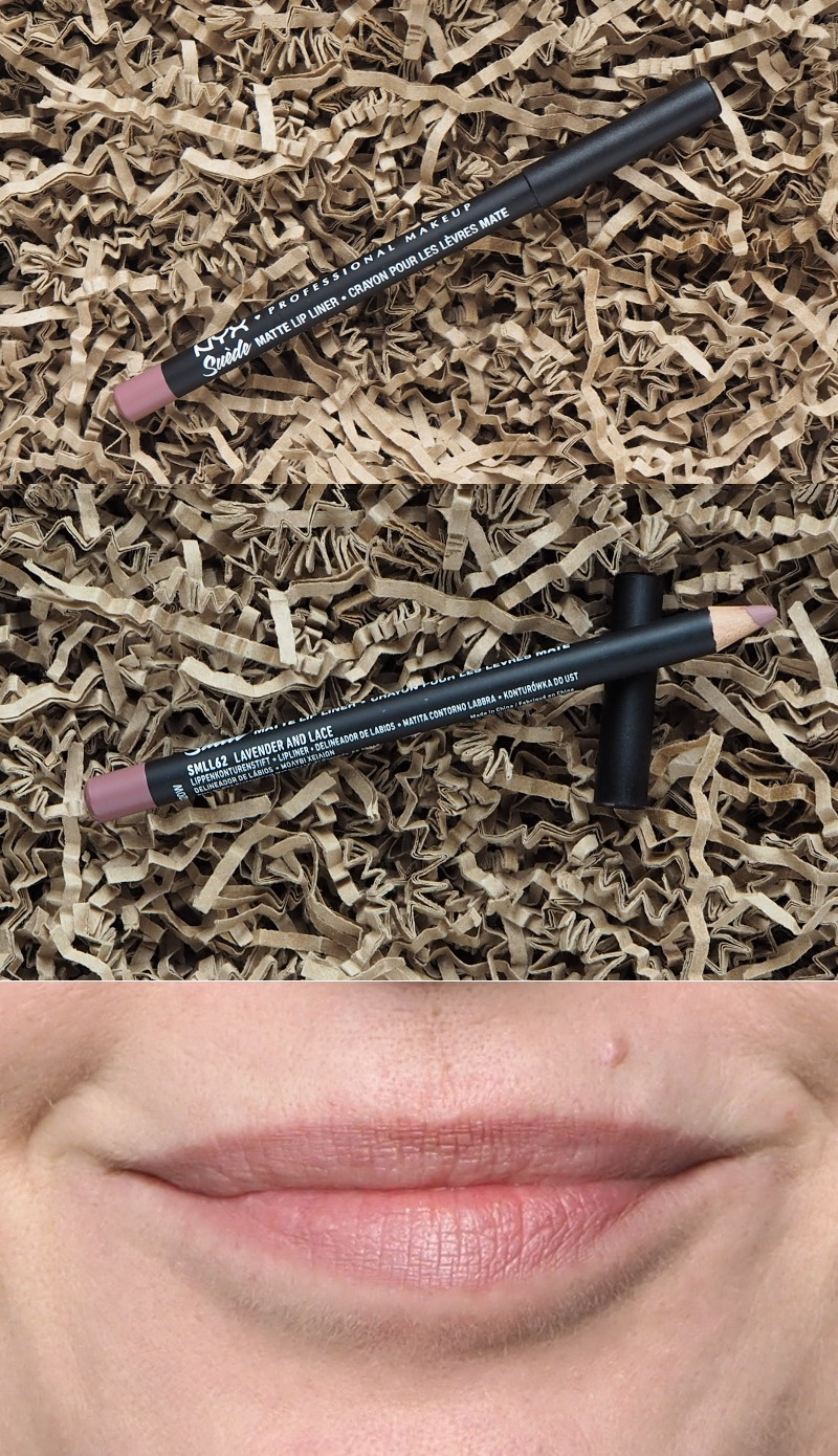 NYX Suede Matte Lip Liner Lavender and Lace