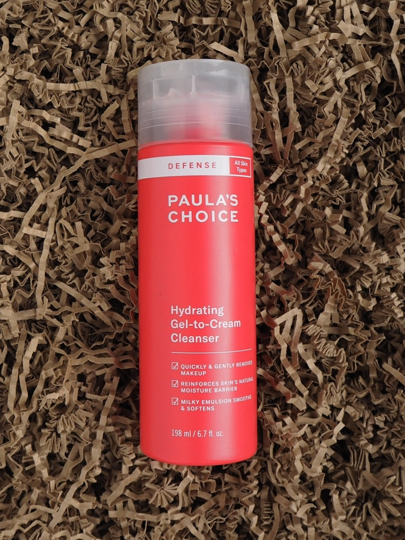 Paulas Choice Defense Hydrating Gel to Cream Cleanser