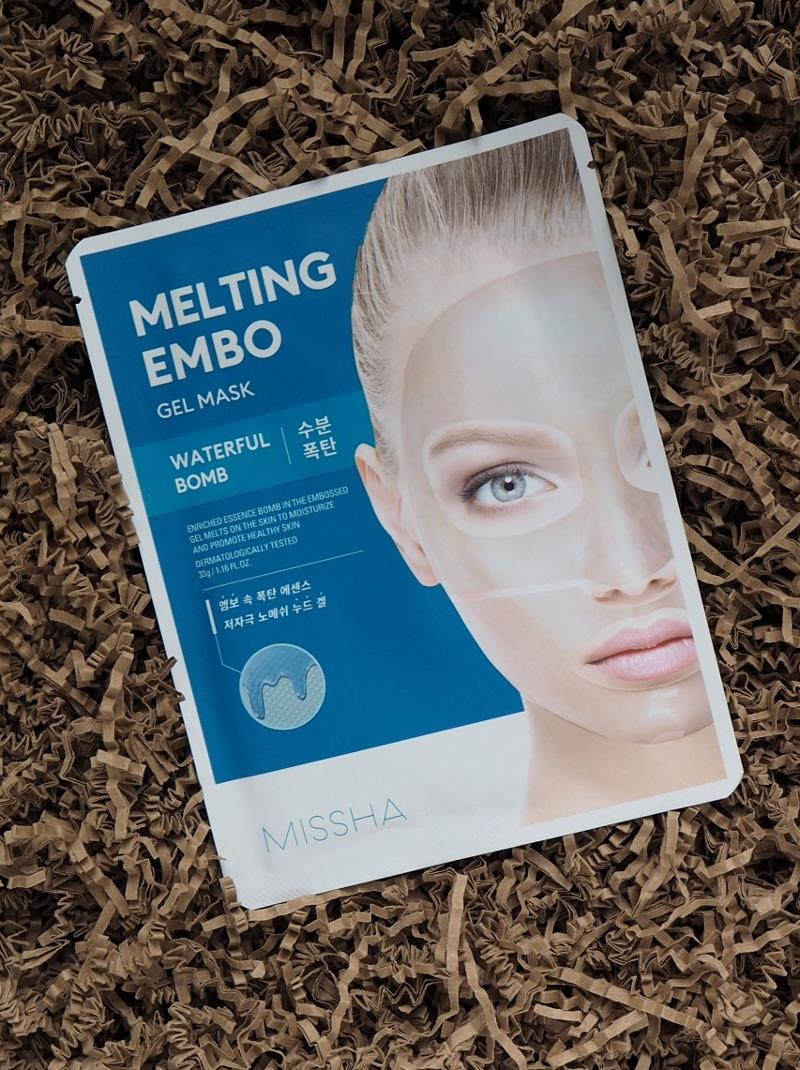 Missha Melting Embo Gel Mask Waterful Bomb