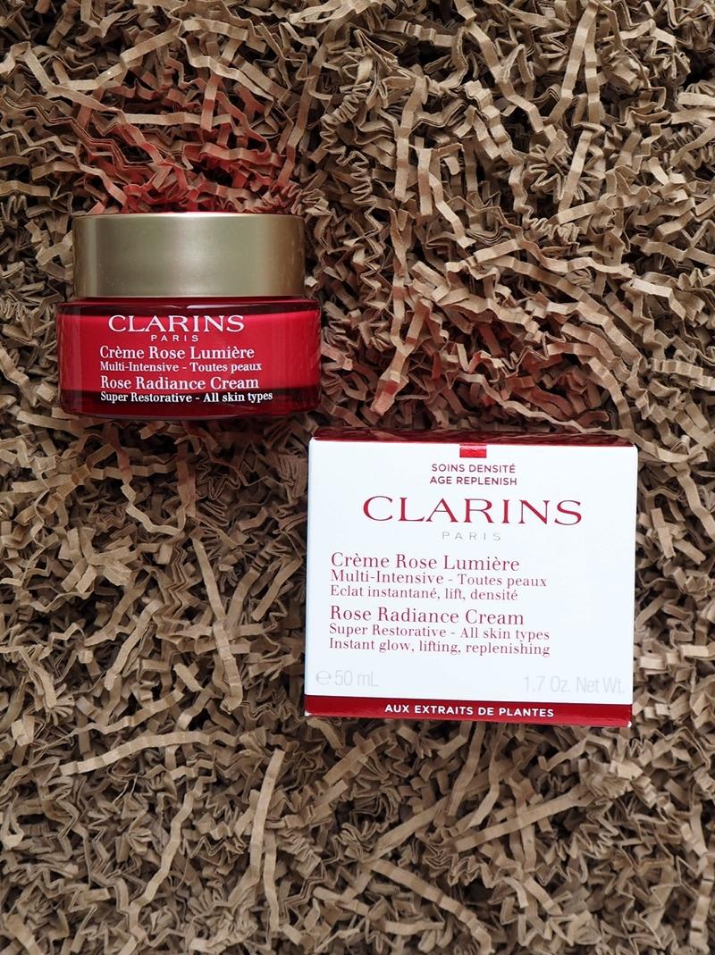 Clarins Creme Rose Lumiere Rose Radiance Cream
