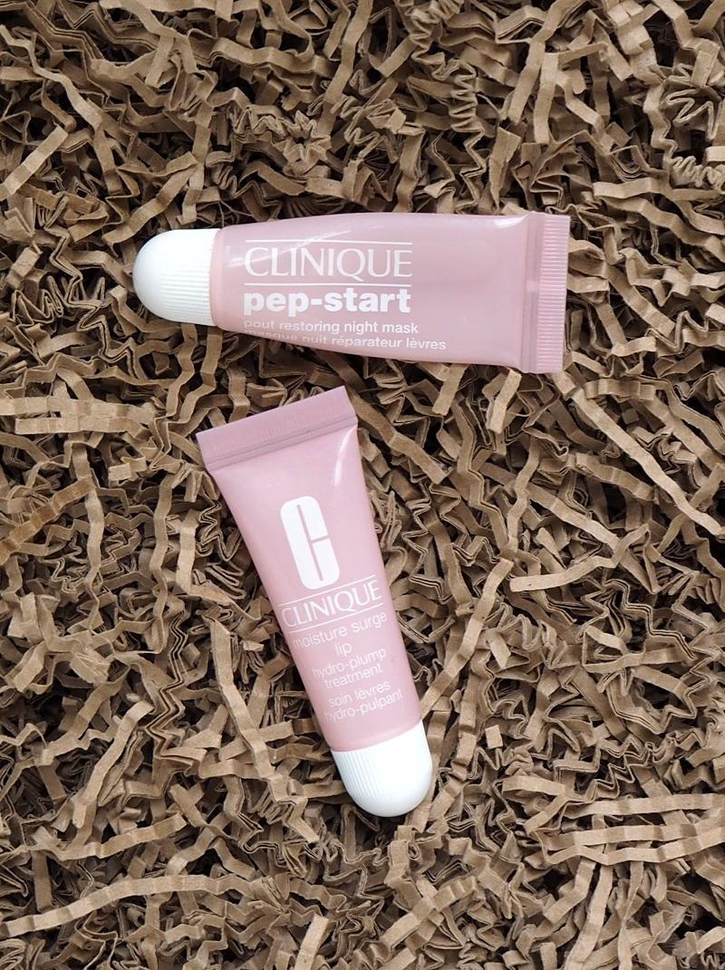Clinique Pep-Start Pout Restoring Night Mask Moisture Surge Lip hydro-plump treatment