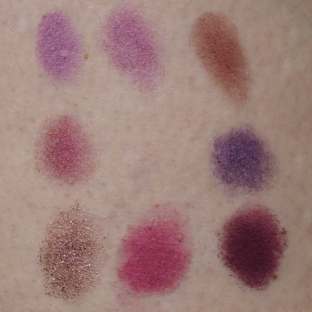 Colourpop Lidschatten Paletten It's my pleasure Swatch
