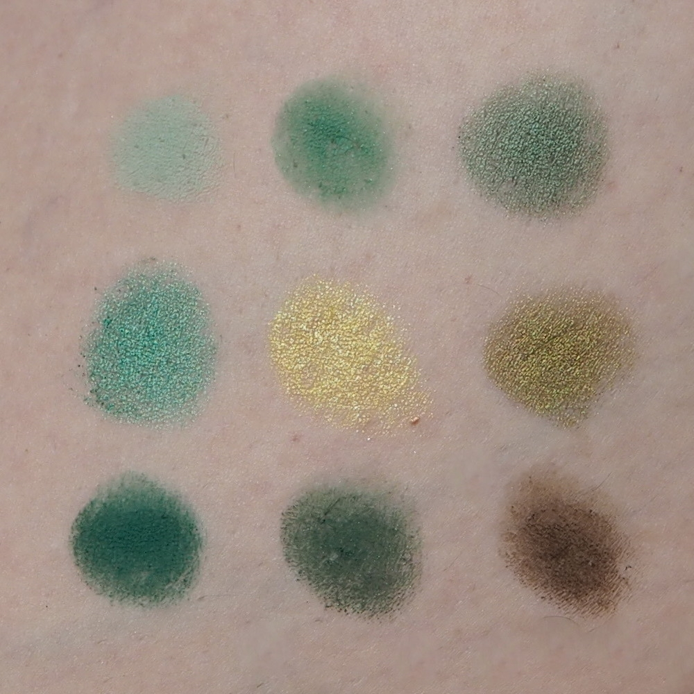 Colourpop Lidschatten Paletten Just my luck Swatch