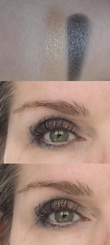 Pat McGrath Augenmakeup und Swatch Fetisheyes Mascara Eyedols Divine Mink Celestial MAC Emphasize