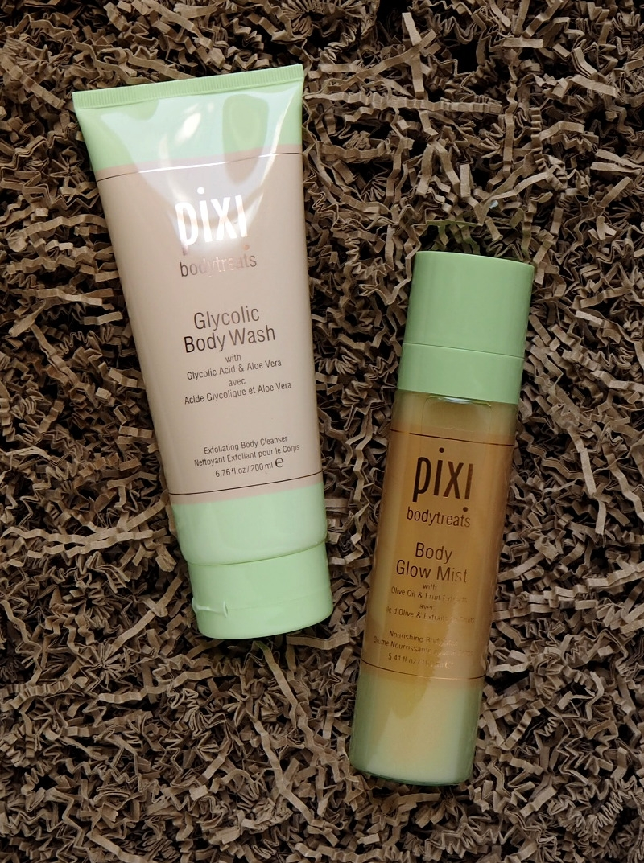 Pixi Bodytreats Glycolic Body Wash Body Glow Mist