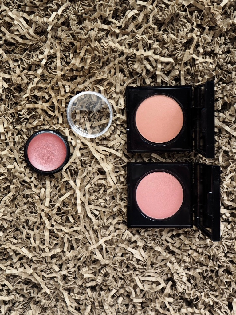 Makeup Korres Illuminating Blush Peach Golden Pink Max Factor Miracle Touch Blush Soft Murano