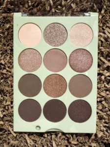 Makeup: Pixi Eye Reflection Shadow Palette Natural Beauty