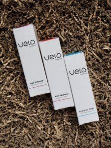 Velo Cosmetics: Hyaluron Filler und Age Defense Seren. Und ein Rabatt.