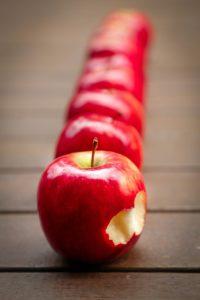 Wochenendrezept: Käsekuchen mit Äpfeln und Streuseln