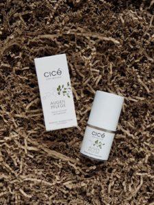 Cicé Augenpflege, ein Irit-Paket und ein Rabatt