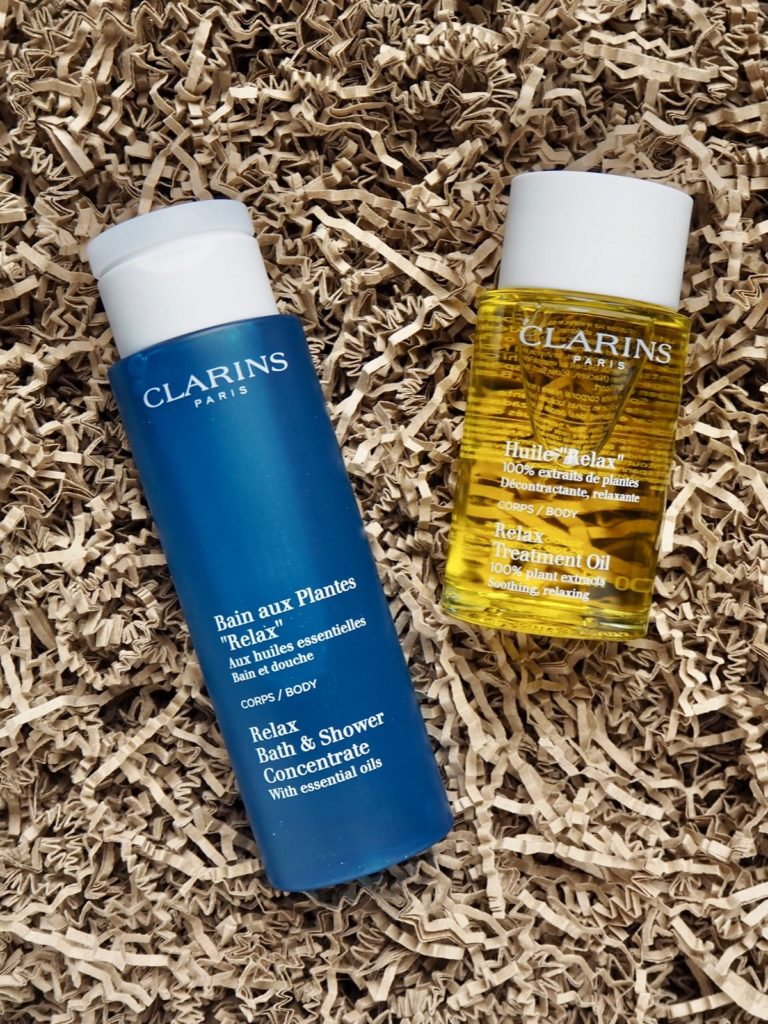 Clarins Bain aux Plantes Relax Huile Relax