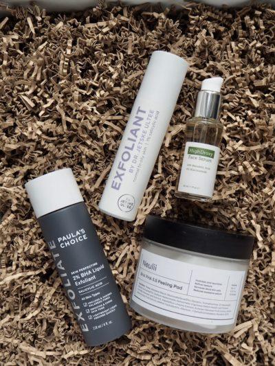 Paulas Choice 2% BHA Liquid Exfoliant HighDroxy Face Serum Neulii BHA PHA Peeling Pad Uncover Skincare Exfoliant BHA