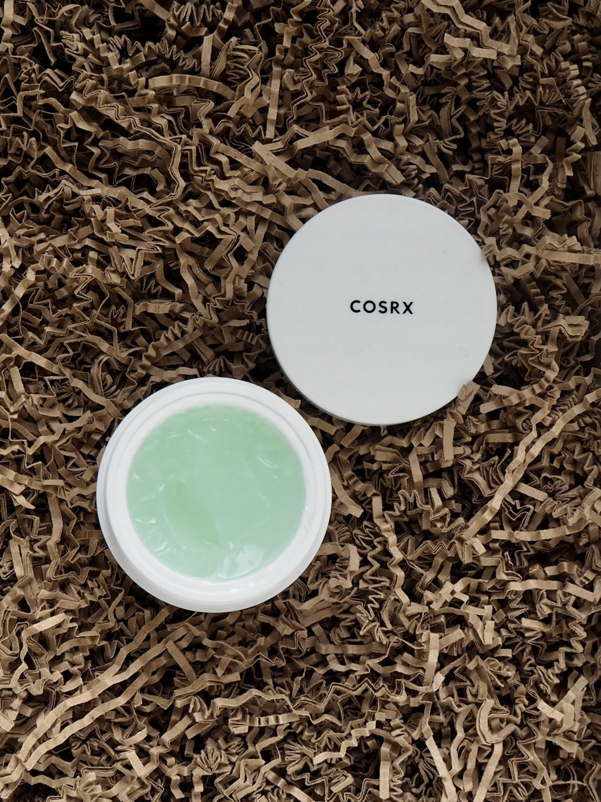 COSRX Green Tea Aqua Soothing Gel Cream offen