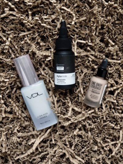 VDL Lumilayer Primer Hyalamide Photography Foundation Catrice One Drop Coverage