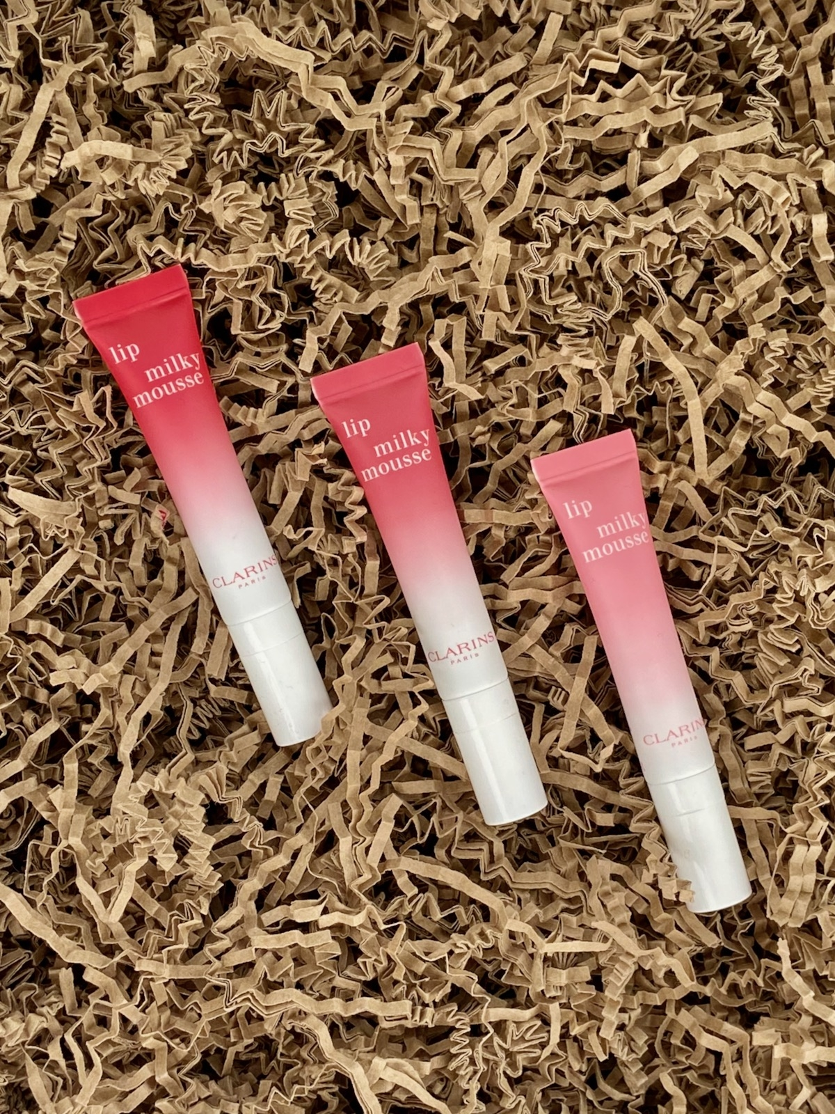 Clarins Lip Milky Mousse 01 02 03