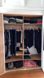 Kleiderschrank a la Kondo: ich habe geräumt – Teil 1