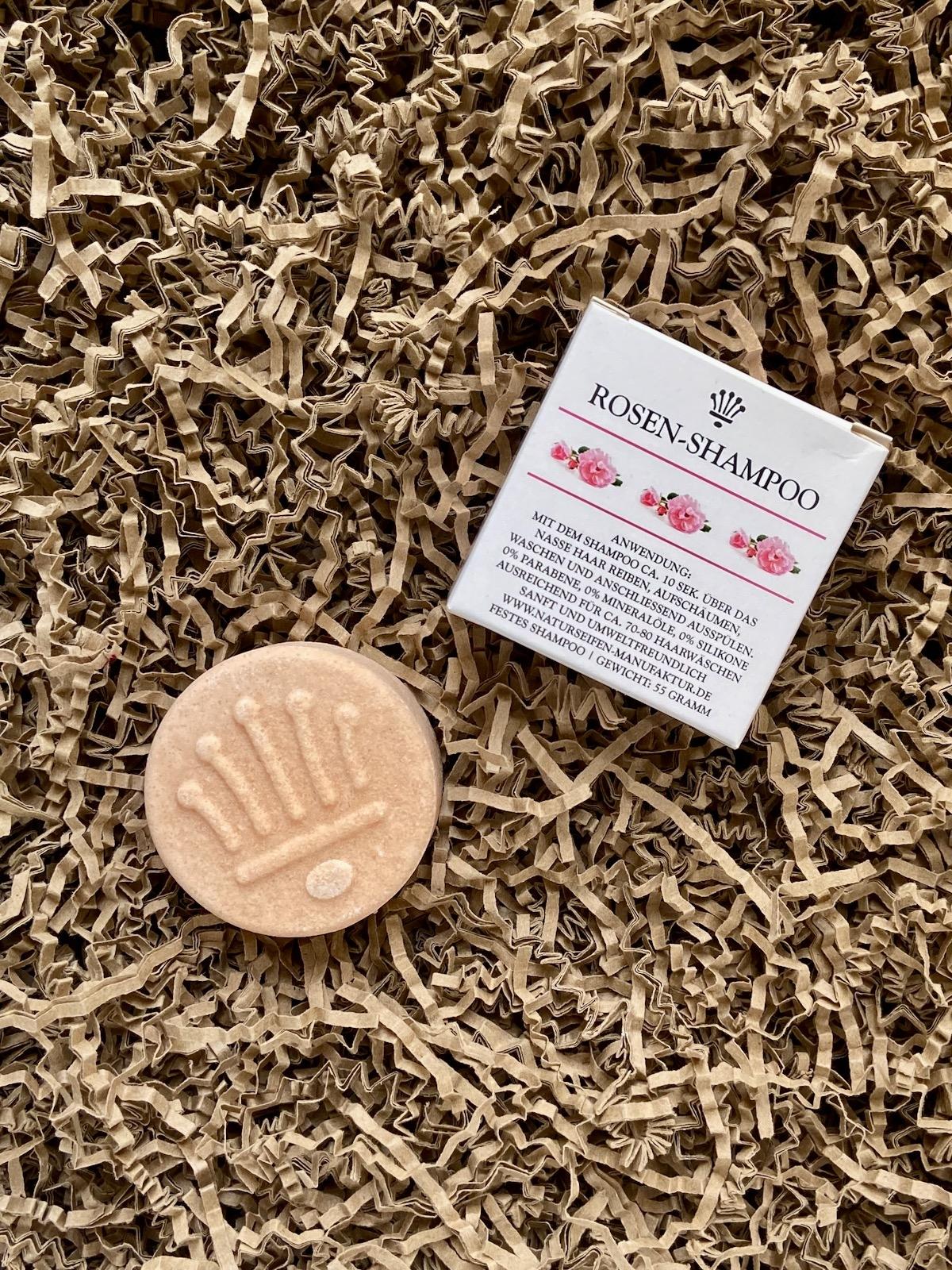 Naturseifen Manufaktur Uckermark Rosen-Shampoo