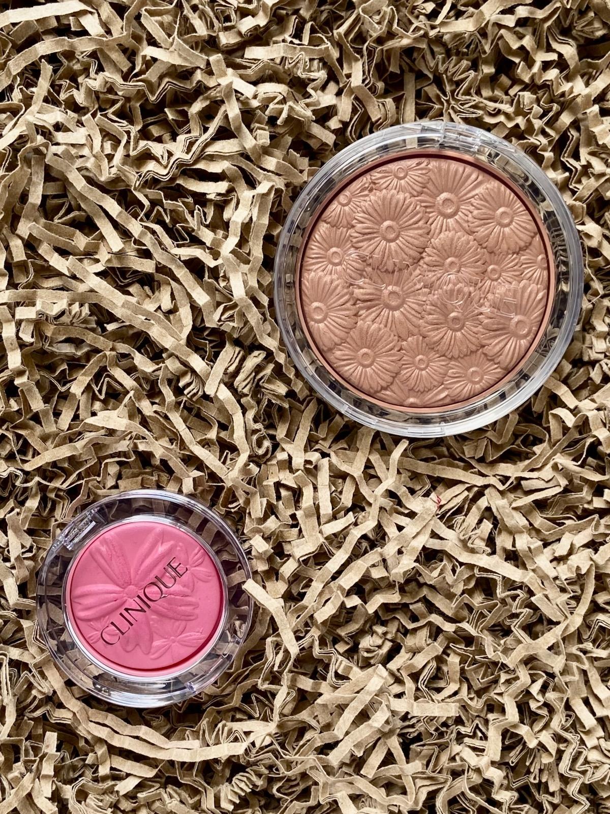 Clinique Powder Pop Flower Bronzer Solar Pop Cheek Pop Pink Pop