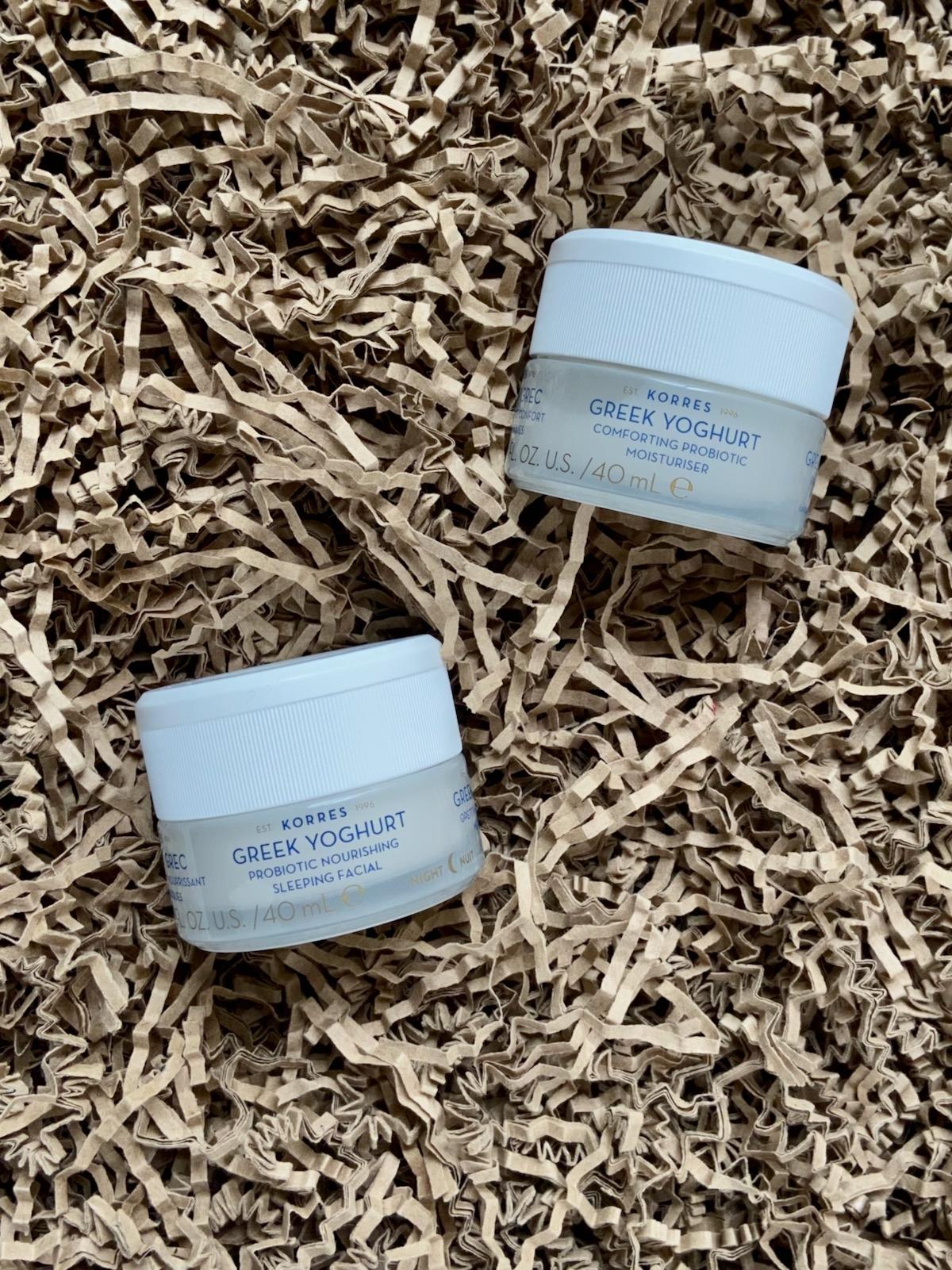 Korres Greek Yoghurt Probiotische Feuchtigkeitscreme Sleeping Facial