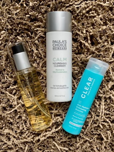Paula's Choice Perfect Cleansing Oil Calm Gel Cleanser Clear Regular Strength 2% BHAPaula's Choice Perfect Cleansing Oil Calm Gel Cleanser Clear Regular Strength 2% BHA