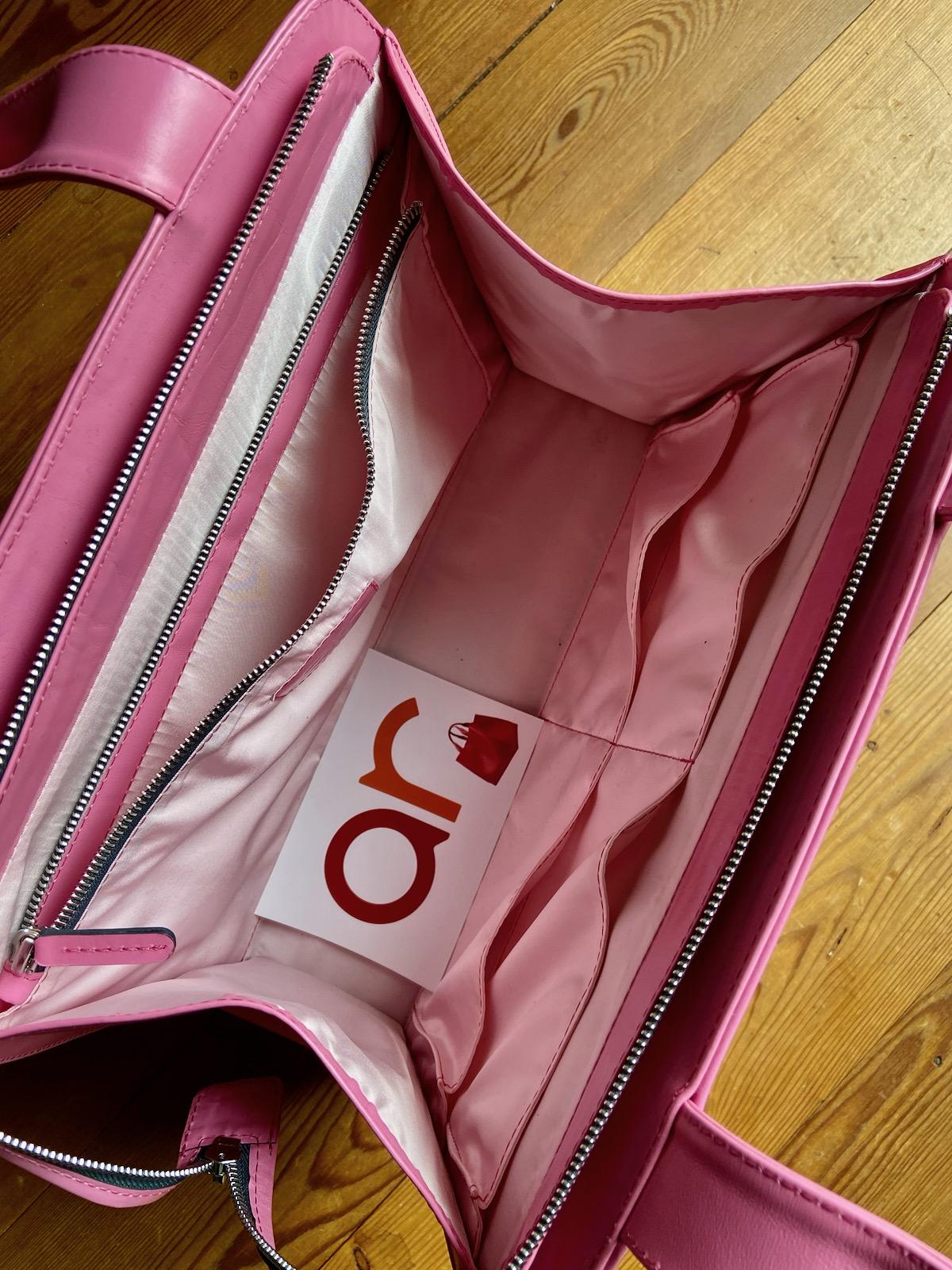 Anke Runge Adele in pink Glattleder innen