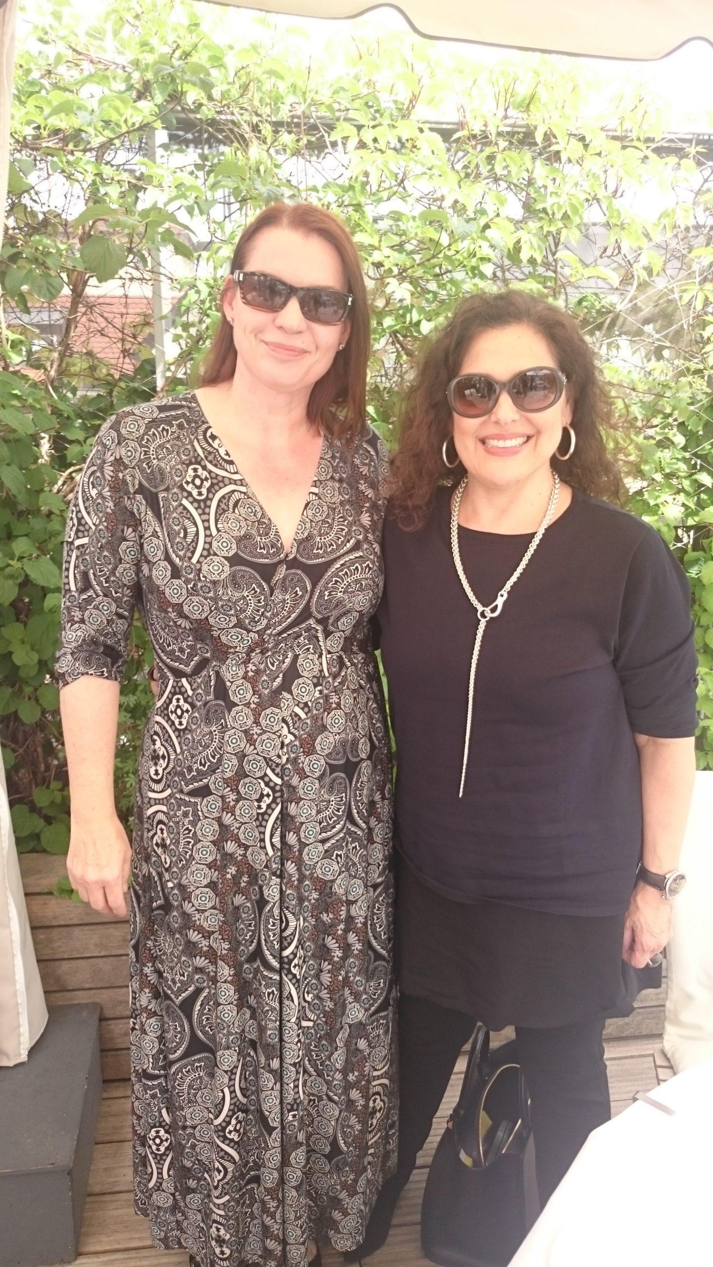Laura Mercier und ich
