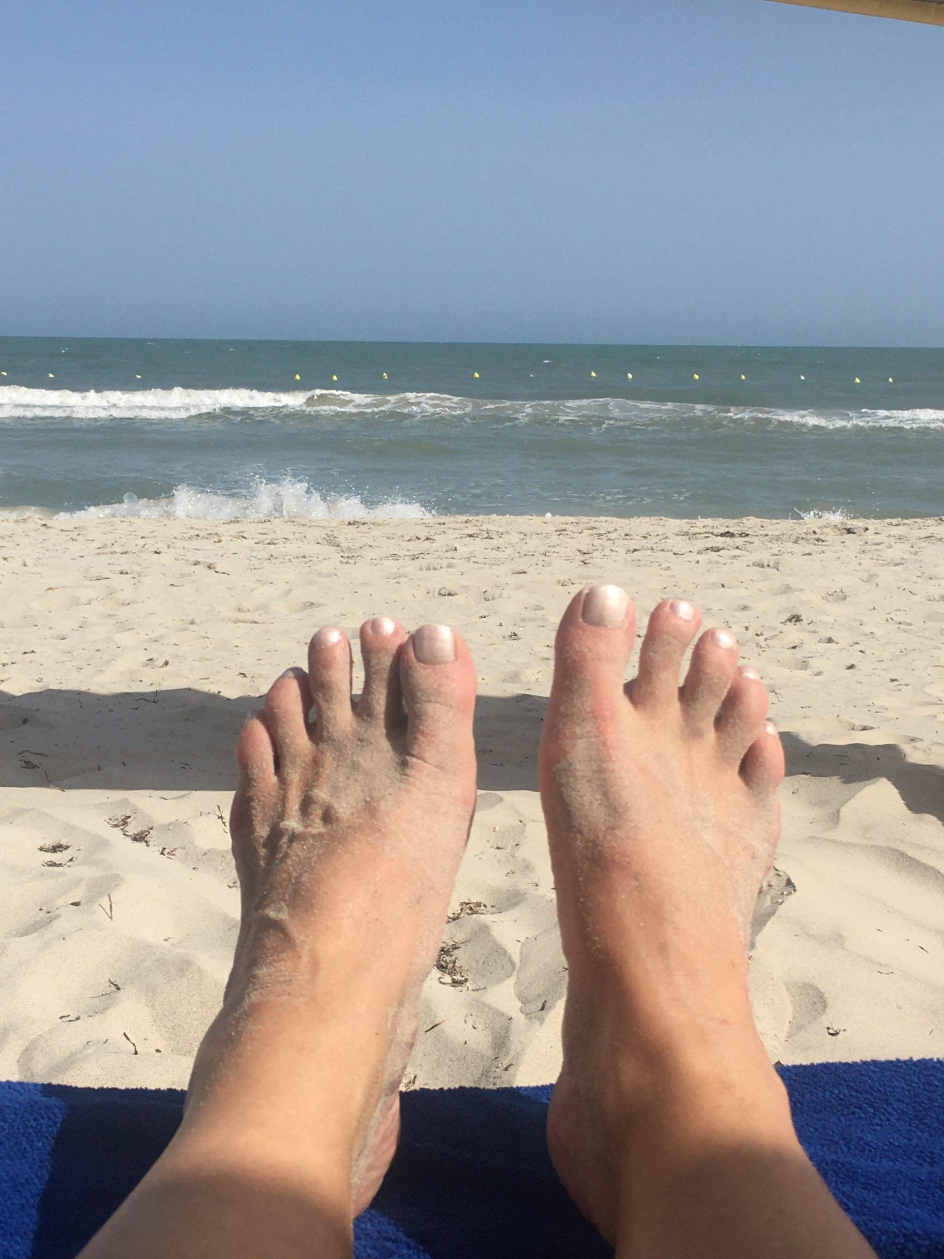 Djerba Füße