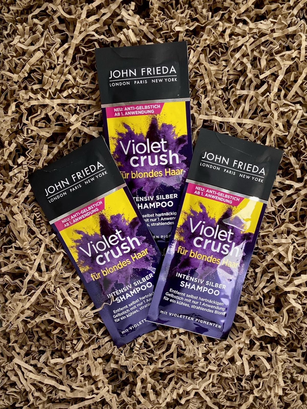 John Frieda Violet Crush Intensiv Silber Shampoo