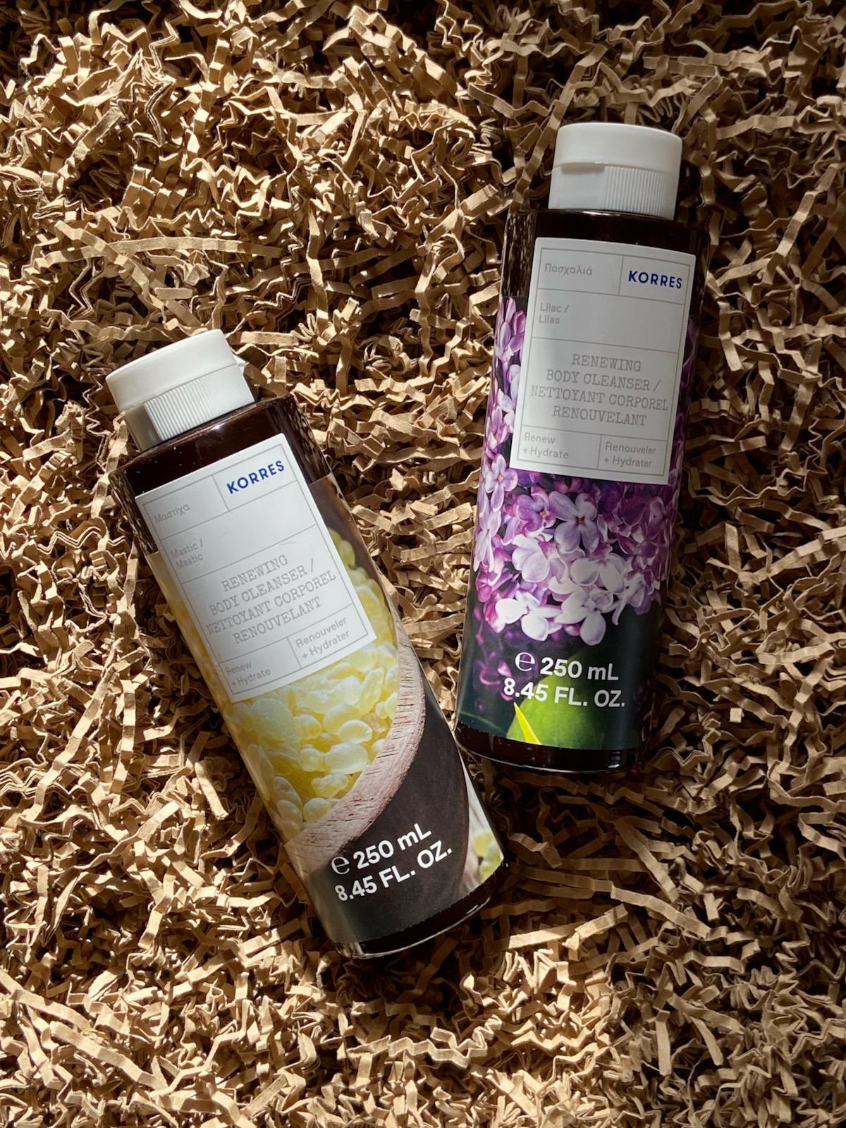 Korres Duschgel Mastic Lilac