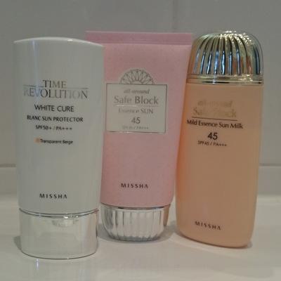 Missha-Sonnenschutz-White-Cure-Safe-Block-Essence-Sun-SPF-45-Mild-Essence-Sun-Milk